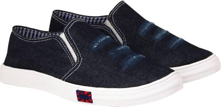 ABJ Fashion Stylish Denim Sneakers For Women