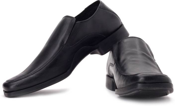 Red Tape Men Genuine Leather Slip On Shoes For Men