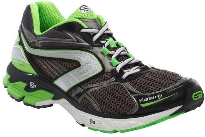 3482f0826 Kalenji by Decathlon Kiprun Ld Blackgreen Running Shoes For Men (Black