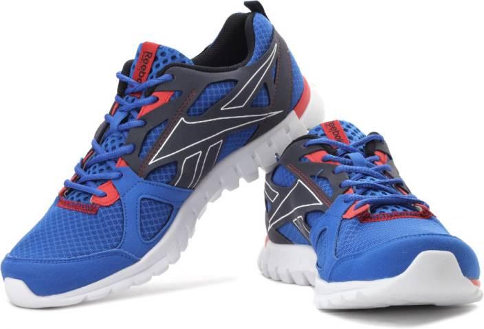 buy online a51d0 10f4d REEBOK Sublite Prime Running Shoes For Men (Blue, Red, Navy)