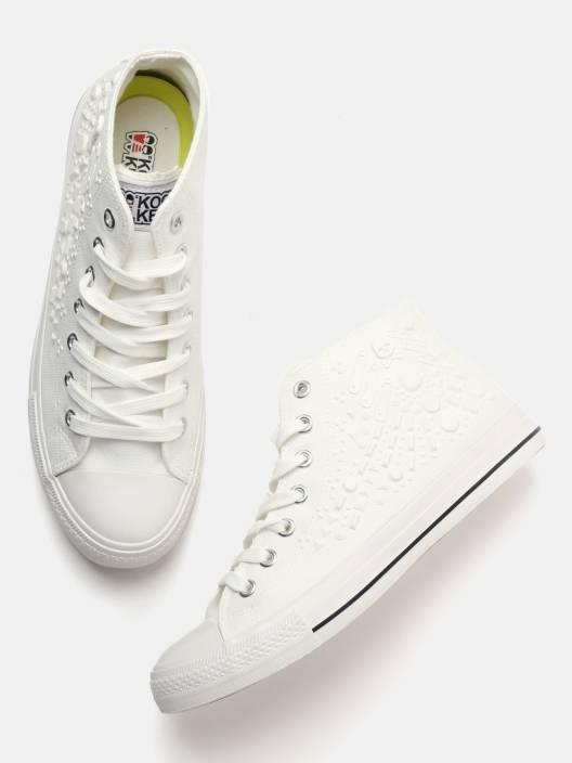 7a435fbbd Kook N Keech Sneakers For Men - Buy White Color Kook N Keech ...