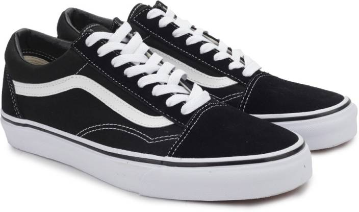 fc4ea6706ab Vans OLD SKOOL Sneakers For Men - Buy BLACK WHITE Color Vans OLD ...