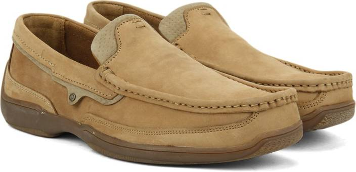 Woodland Leather Loafers For Men