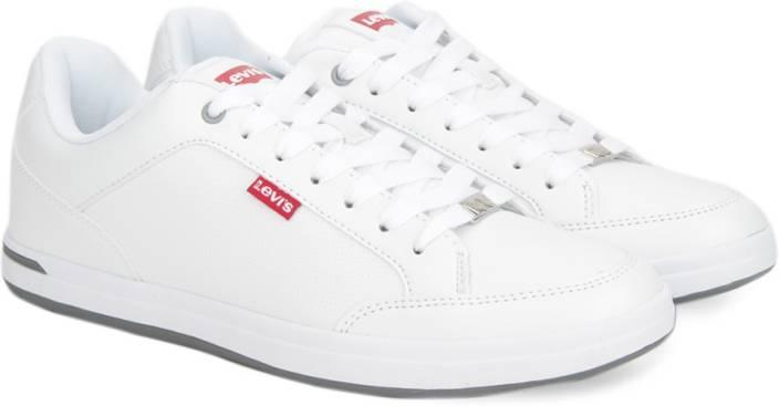 d64d4b46 Levi's AART CORE PU Sneakers For Men - Buy White Color Levi's AART ...