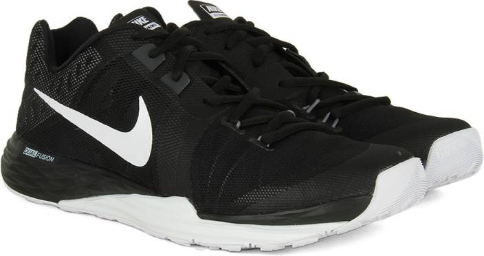 brand new cdf25 ad136 Nike TRAIN PRIME IRON DF Men Training Shoes For Men (Black, White)