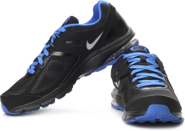 meet 0a70e d80bf Nike Air Max Defy Running Shoes For Men (Silver, Black, Blue)