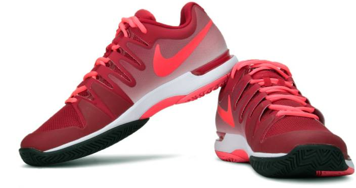 1e13baf8afb8 Nike Zoom Vapor 9.5 Tour Tennis Shoes For Men - Buy Red Color Nike ...