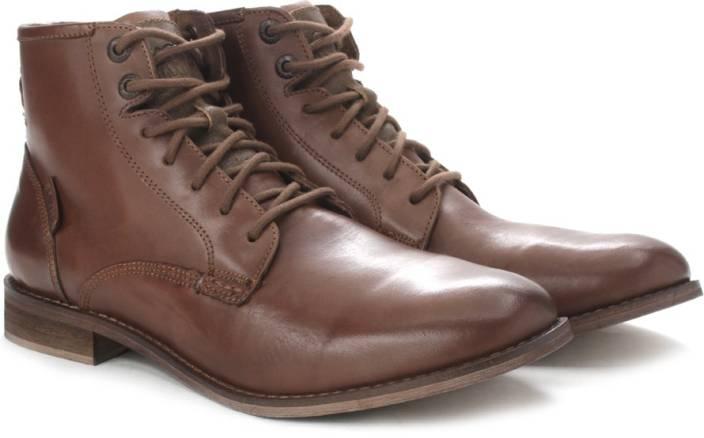 c1b9e0e6a5b1c Levi's Soldier boy Men Boots For Men - Buy Tan Color Levi's Soldier ...