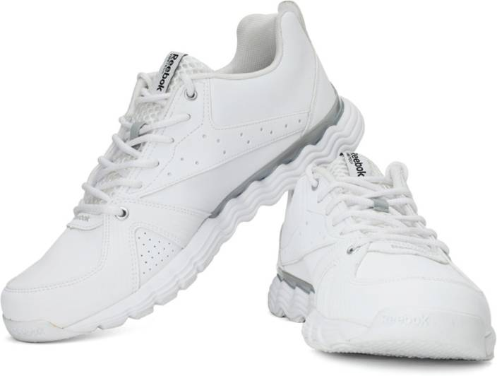 new product f3c86 02a46 REEBOK Flashvibe Train 2 LP Running Shoes For Men (White, Silver)