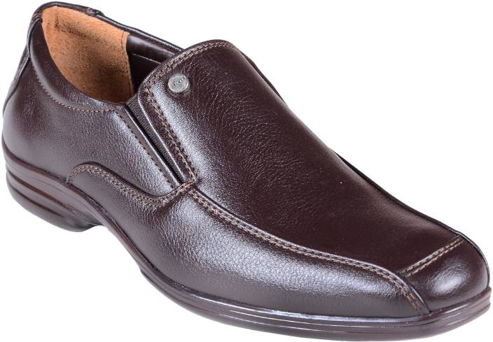 Liberty Formal Brown Shoes Slip On For Men