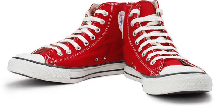 which is the best converse shoes price red colour