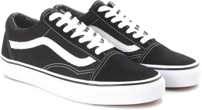 3148e34d18ae24 Vans Old Skool Sneakers For Men - Buy Black Color Vans Old Skool ...