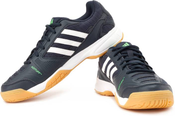 2b26274673c ADIDAS Opticourt Ligra Badminton Shoes For Men - Buy Black Color ...