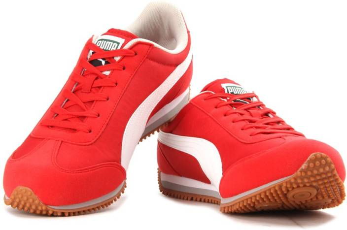 puma shoes for men red