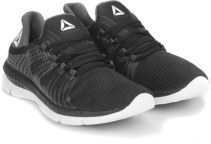 dcd46f6cd13 REEBOK ZPRINT HER MTM Running Shoes For Women - Buy BLACK GREY WHITE ...