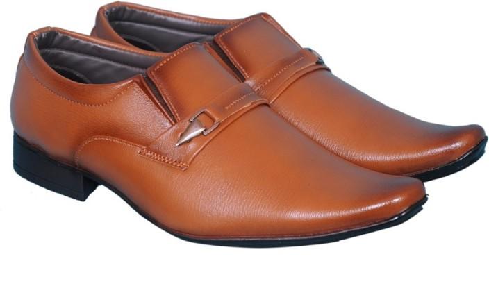 Smoky Brown Formal Shoe Slip On For Men