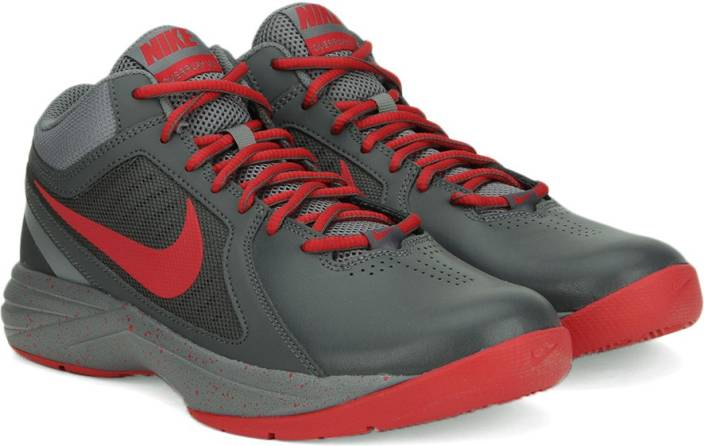 58bb4c1731b7 Nike THE OVERPLAY VIII Basketball Shoes For Men - Buy DARK GREY ...