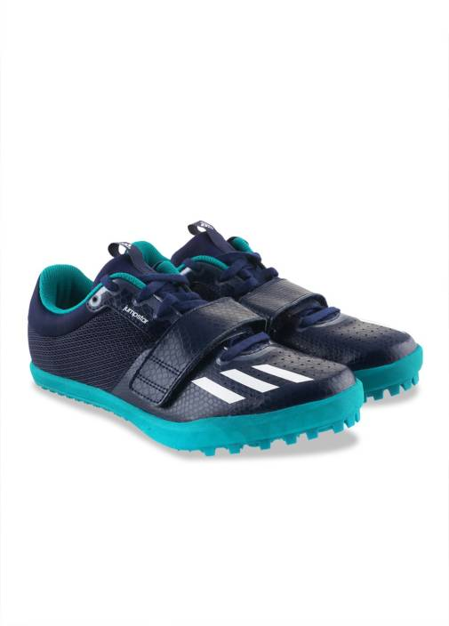 timeless design b20af 5b53b ADIDAS JUMPSTAR Track and Field Shoes For Men (Blue)