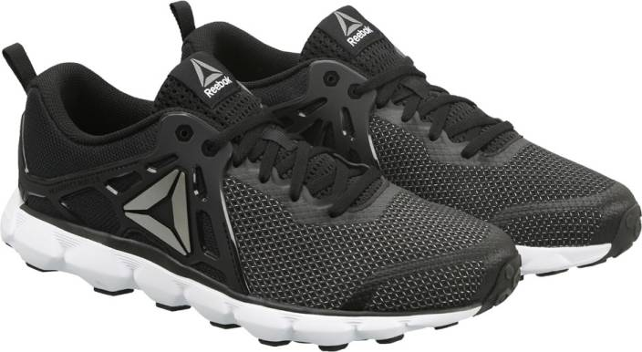 REEBOK HEXAFFECT RUN 5.0 MTM Running Shoes For Men - Buy BLACK WHITE ... 7d2f2f452