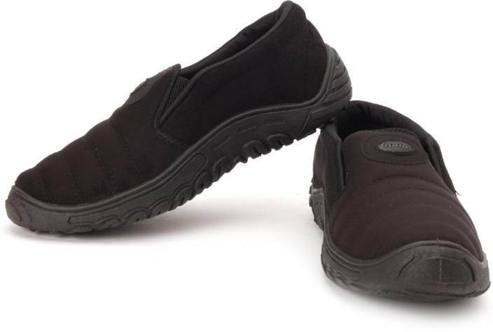 Bata Black Canvas Shoes Online