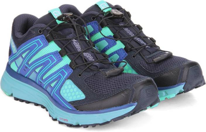 Salomon X-MISSION 3 W BL/BUBBLE BLU/CB Running Shoes For Women