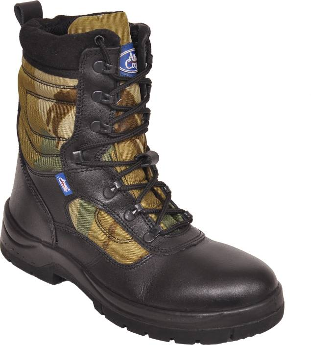 Allen Cooper Jungle Camouflage Combat Boot - Buy Olive Color Allen ...