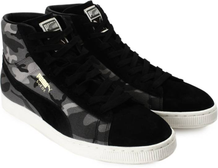 brand new d717f 6945a Puma Suede Mid Classic+ Rugged Mid Ankle Sneakers For Men
