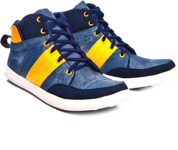Leoport Men's Ankle Length Sneakers For Men