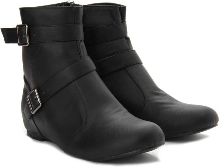 8e8d6c38149 Nell Boots For Women - Buy Black Color Nell Boots For Women Online ...