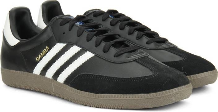 d18402354b57b ADIDAS SAMBA Men Sneakers For Men - Buy Black Color ADIDAS SAMBA Men ...