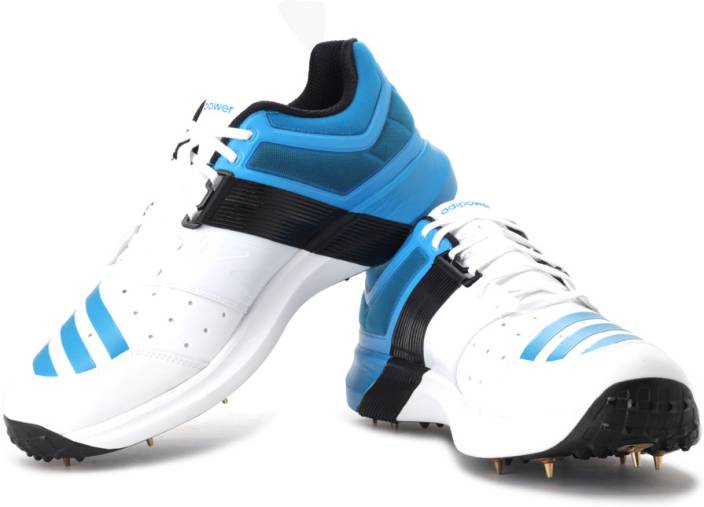 cd9d05f2fae92a ADIDAS Adipower Vector Cricket Shoes For Men - Buy White