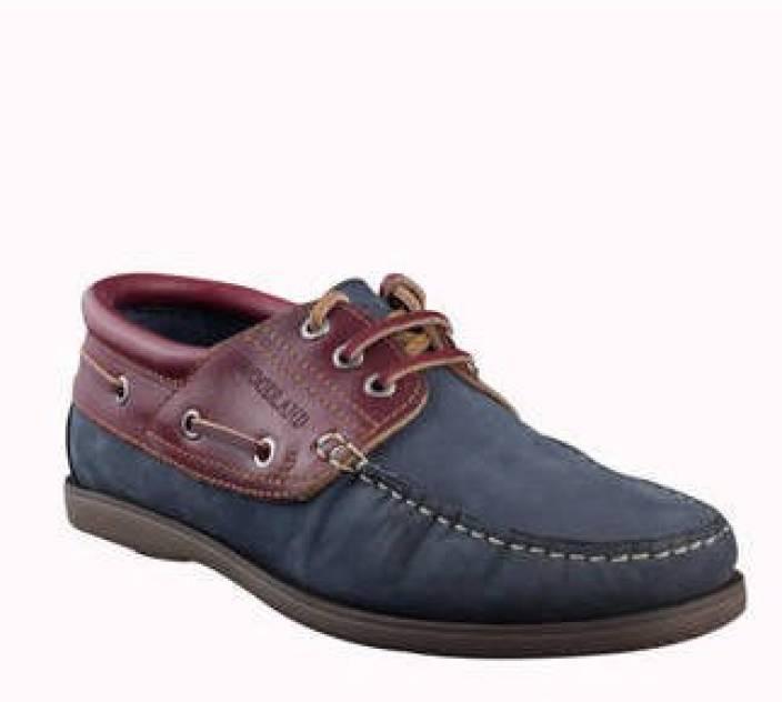 Woodland Boat Shoes For Men - Buy DNAVY Color Woodland ...