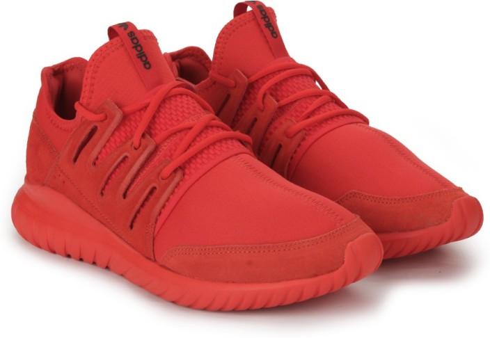 adidas tubular red shoes