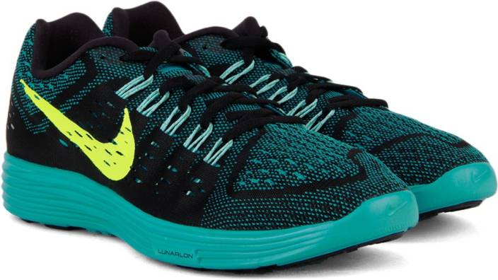 online retailer 5e014 24124 Nike LUNARTEMPO Running Shoes For Men (Blue, Black)