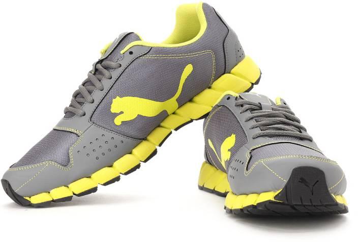 Puma Trendy Grey Running Shoes