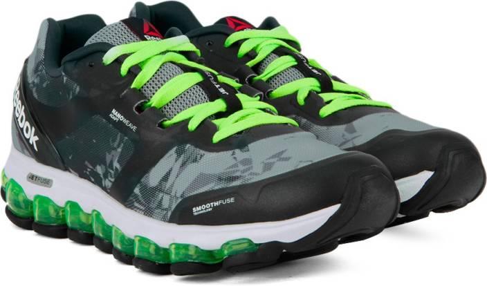 d00e381aeba46 REEBOK ZJET SOUL Running Shoes For Men - Buy GREY GRAVEL GREEN WHT ...