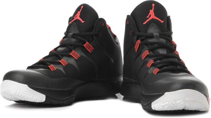 737473d7b3d Nike Jordan Super.Fly2 Basketball Shoes For Men - Buy Black, Red ...