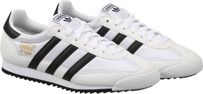 online retailer 266b4 c372f ADIDAS ORIGINALS DRAGON OG Sneakers For Men (White)