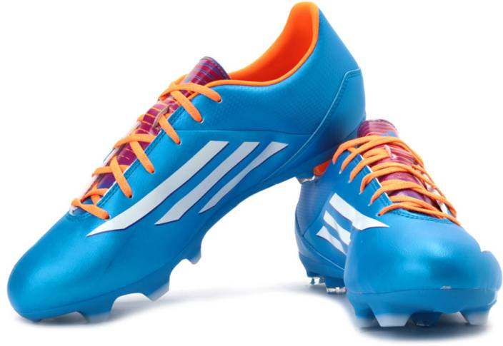 super popular 3278a 07849 ADIDAS F10 Trx Fg Football Studs For Men (Blue, Orange, White, Pink)