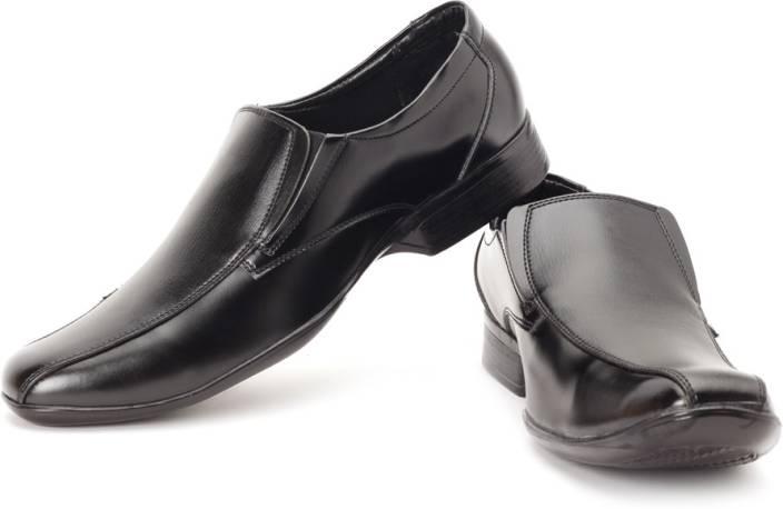 Bata N.Lorna Men Synthetic Leather Slip On Shoes For Men