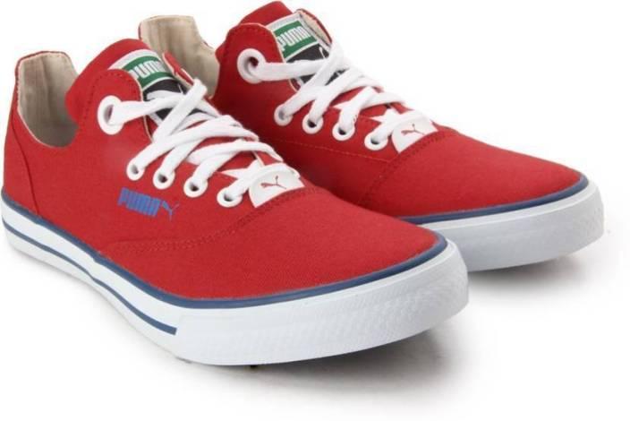 Puma Men Limnos Cat  Dp Black Red Casual Shoes