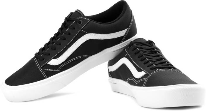 63aa485529 Vans Old Skool Lite Canvas Sneakers For Men - Buy Black