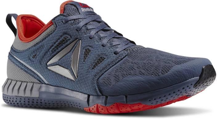 REEBOK ZPRINT 3D Running Shoes For Men - Buy SLATE COAL GREY RED ... b3bd61695