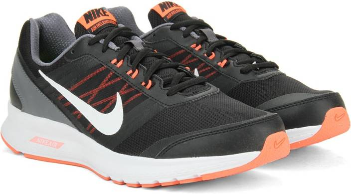 44cb45e680af Nike AIR RELENTLESS 5 Running Shoes For Men - Buy BLACK WHITE-HYPR ...