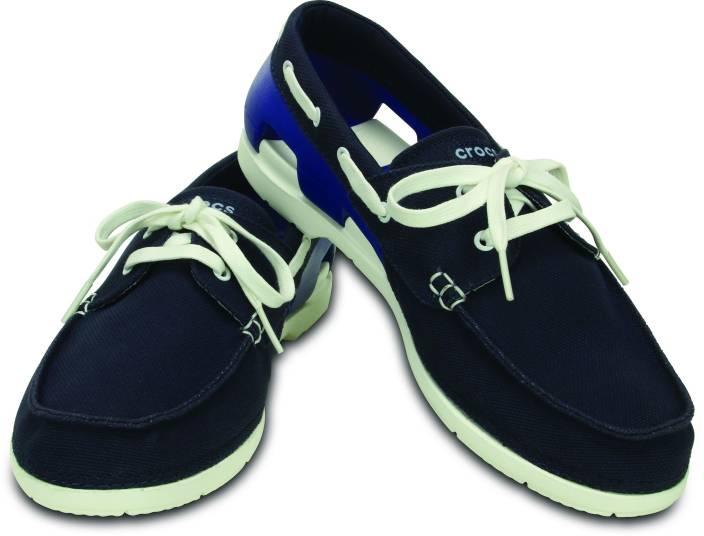 c139357e54d Crocs Beach Line Lace-up M Boat Shoe For Men - Buy Blue Color Crocs ...