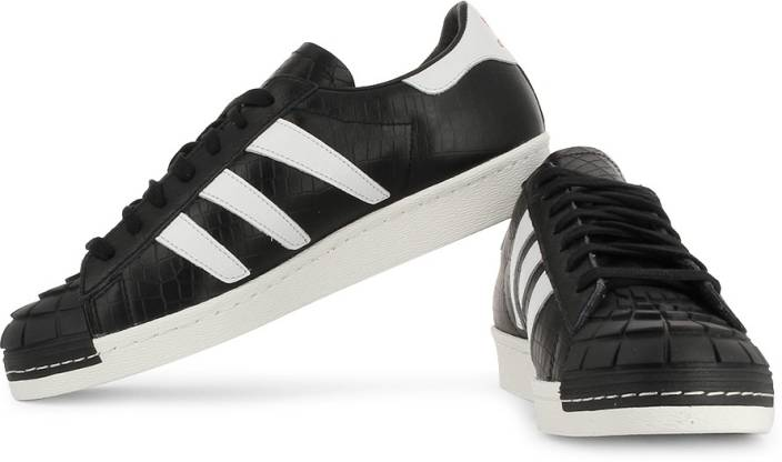 brand new 0c716 867f3 ADIDAS ORIGINALS Superstar 80S Predator Sneakers For Men (Black)