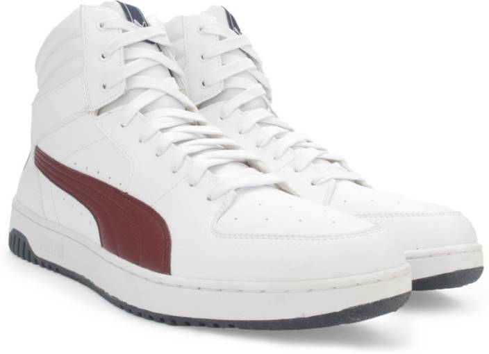 Puma Full Court 2.0 Mid Badminton Shoes For Men - Buy White Color ... 178933f87