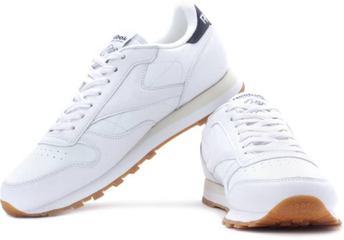 5cc685fcc1f REEBOK Classic Leather Sneakers For Men - Buy White Color REEBOK ...