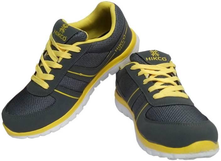7fad705a45a Hikco SEGA Running Shoes For Men - Buy Yellow Color Hikco SEGA ...