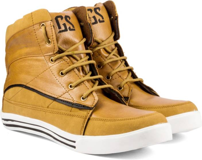 Golden Sparrow High Ankle Casuals For Men